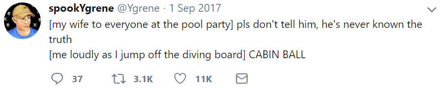 marriage tweets pool party