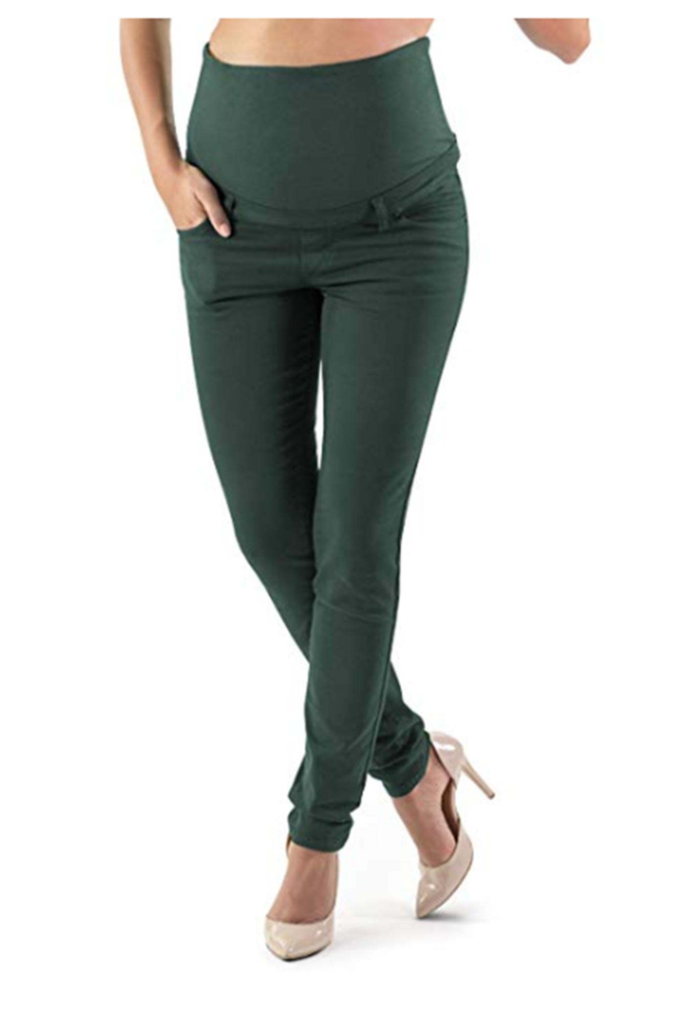 maternity clothes - venezia skinny maternity pants