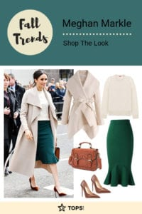 meghan markle - fall trends