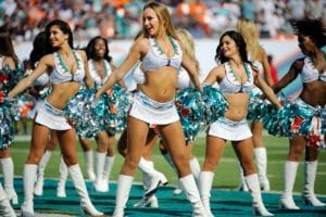 miami dolphins cheerleaders sexy nfl cheerleader outfits