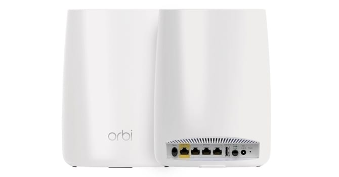 Netgear Orbi has two main components, a router and satellite system