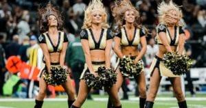 new orleans saints cheerleaders nfl cheerleader outfits