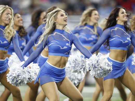 nfl cheerleader outfits detroit lions cheerleaders