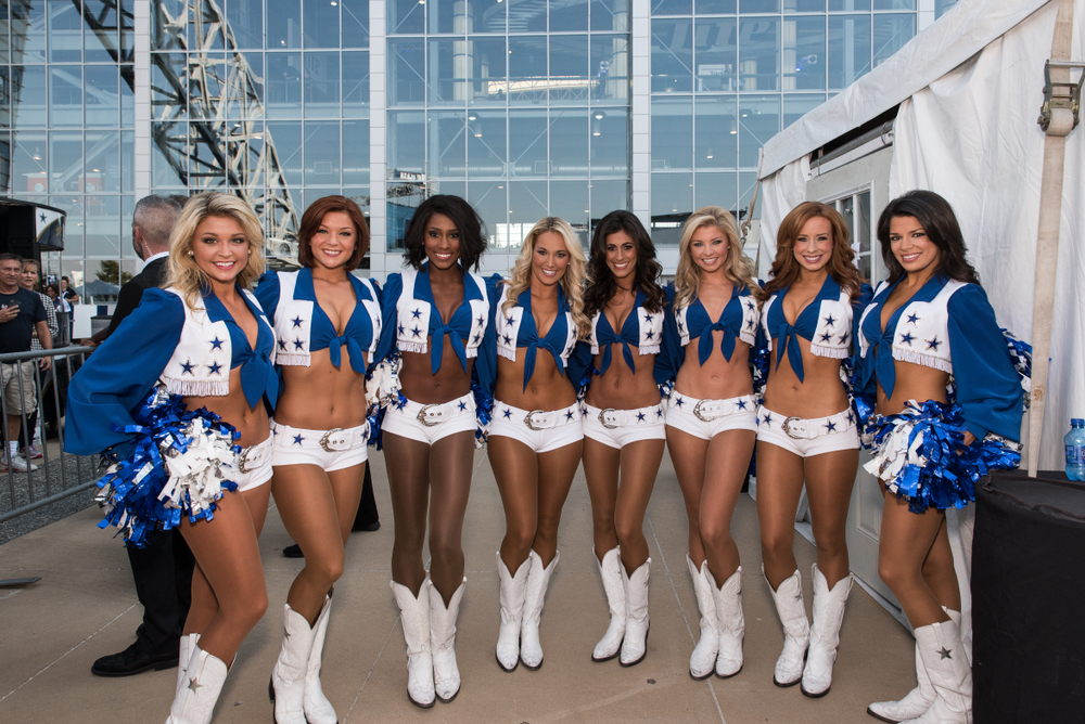37 NFL Cheerleader Outfits That Add Spice To Football Games