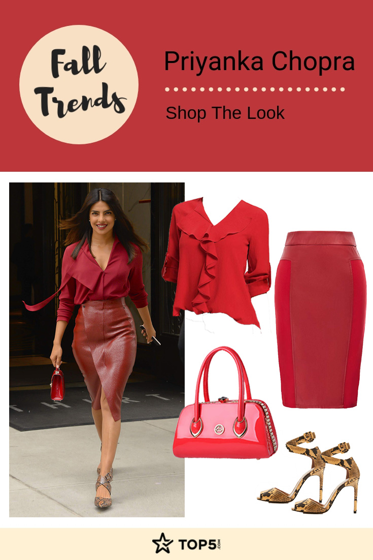 priyanka chopra - fall trends