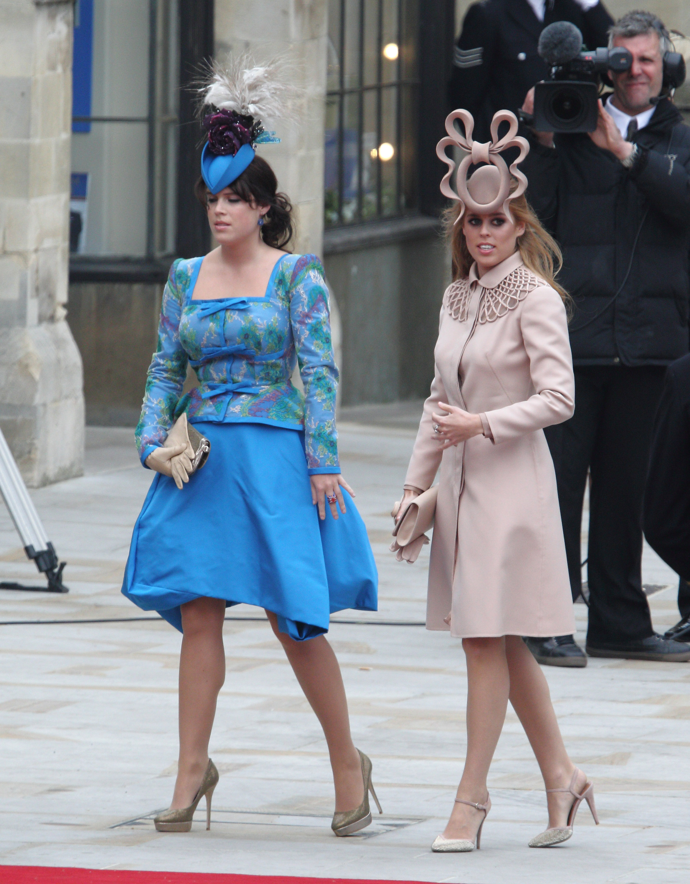 real princesses beatrice and eugenie