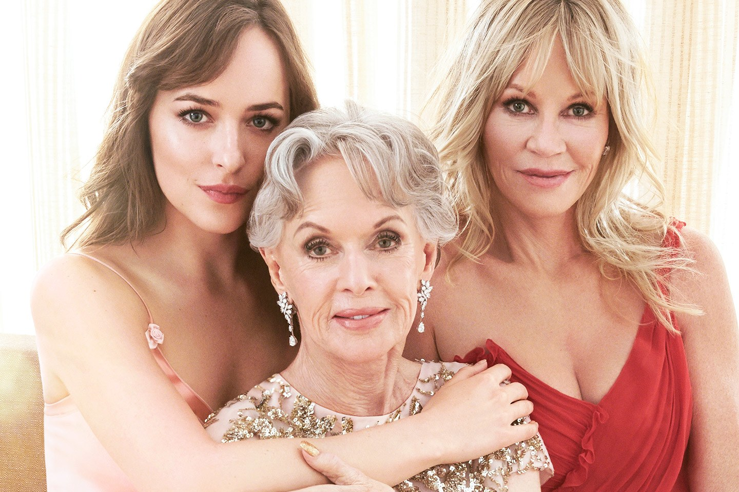 related celebrities dakota johnson melanie griffith tippi hedren