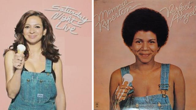 related celebrities maya rudolph minnie riperton
