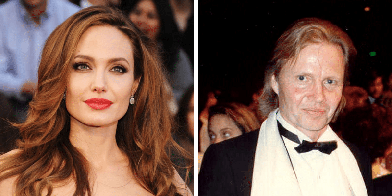 related celebrities angelina jolie jon voight