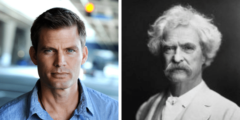 related celebrities casper van dien mark twain
