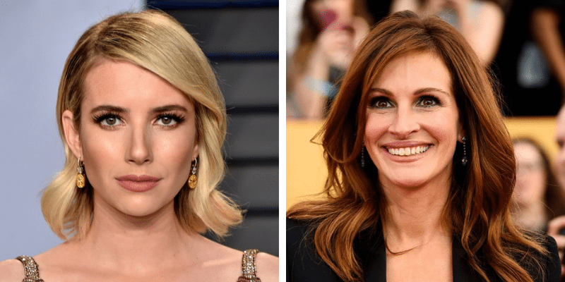related celebrities emma roberts julia roberts