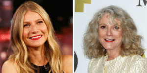 related celebrities gwyneth paltrow blythe danner