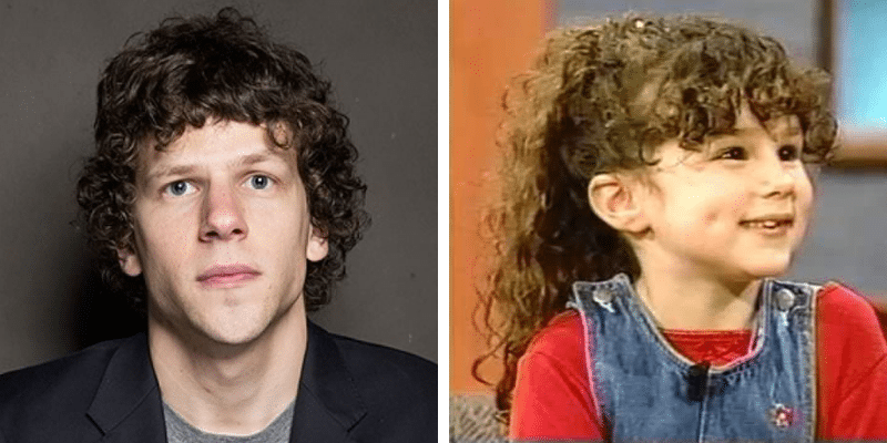 related celebrities jesse eisenberg hallie eisenberg