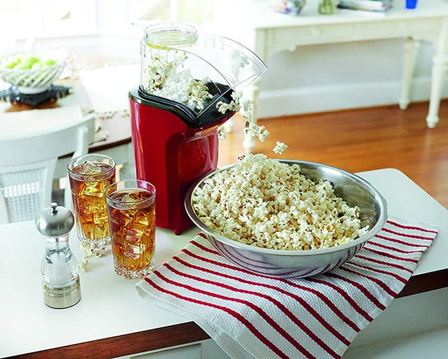 secret santa - hot air popcorn popper
