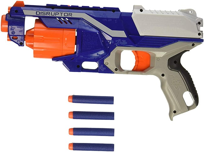 secret santa - nerf n-strike elite disruptor