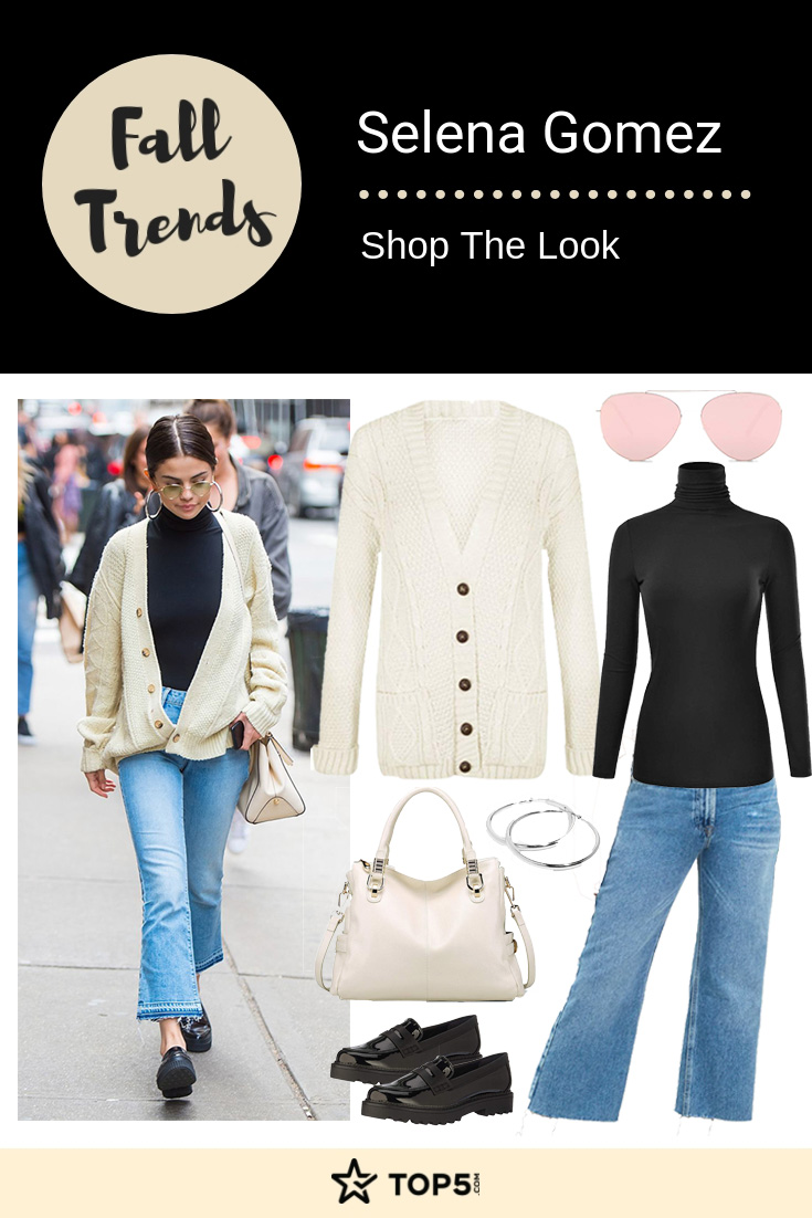 selena gomez - fall trends