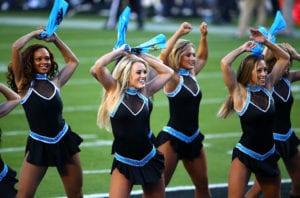 sexy nfl cheerleader outfits carolina topcats panthers cheerleaders
