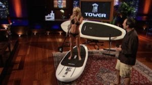 Shark Tank products Tower Paddle Boards