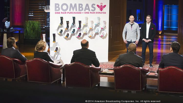 Shark Tank products Bombas