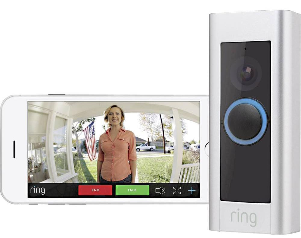 smart home video doorbell on iPhone