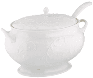 thanksgiving essentials tureen with ladle