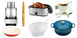 thanksgiving essentials kitchenware