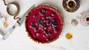 thanksgiving pie -cranberry-lime-pie