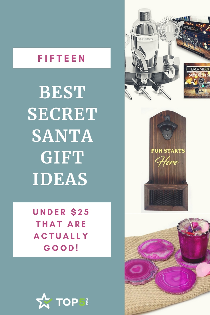 the best secret santa gift ideas for under $25 that are actually good!