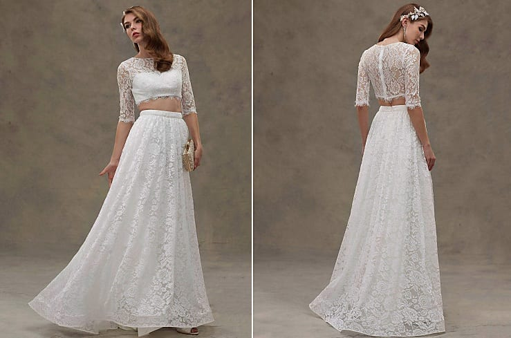 Destination Wedding Dresses two piece