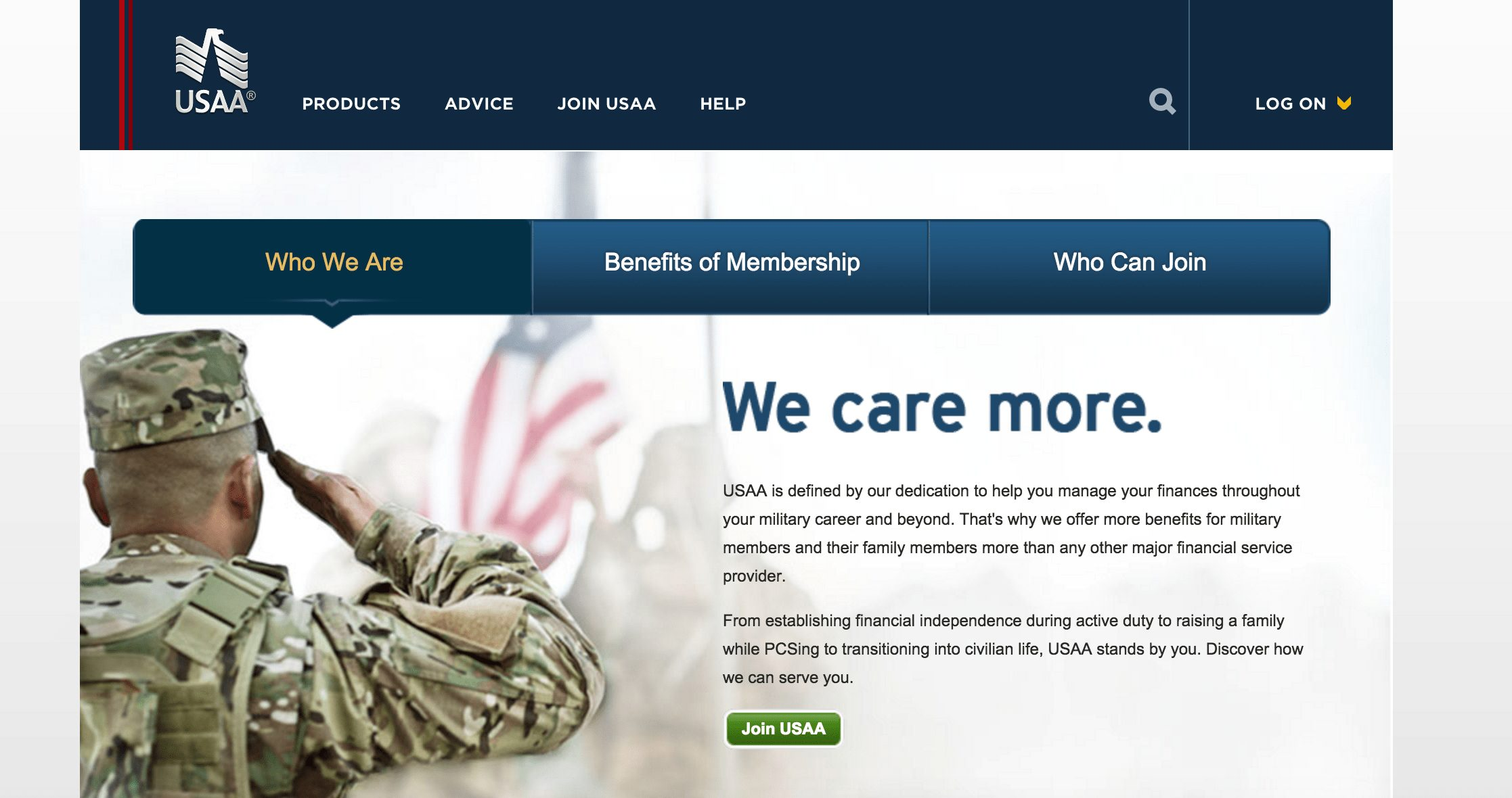 USAA coverage | USAA website