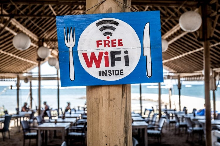 wifi boosters for travel free wifi sign