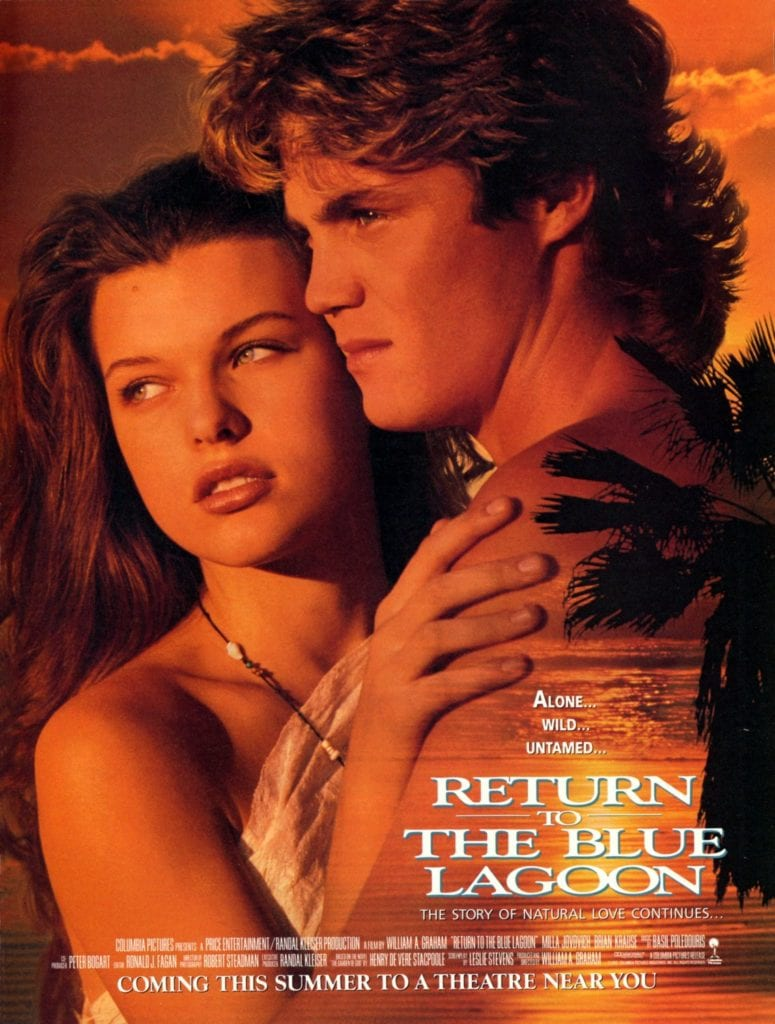 Return to the blue lagoon poster worst rated movies