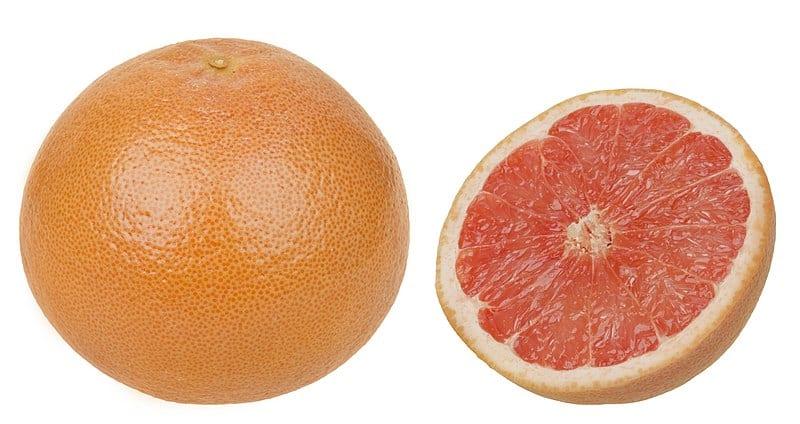 a grapefruit half a zero calorie foods