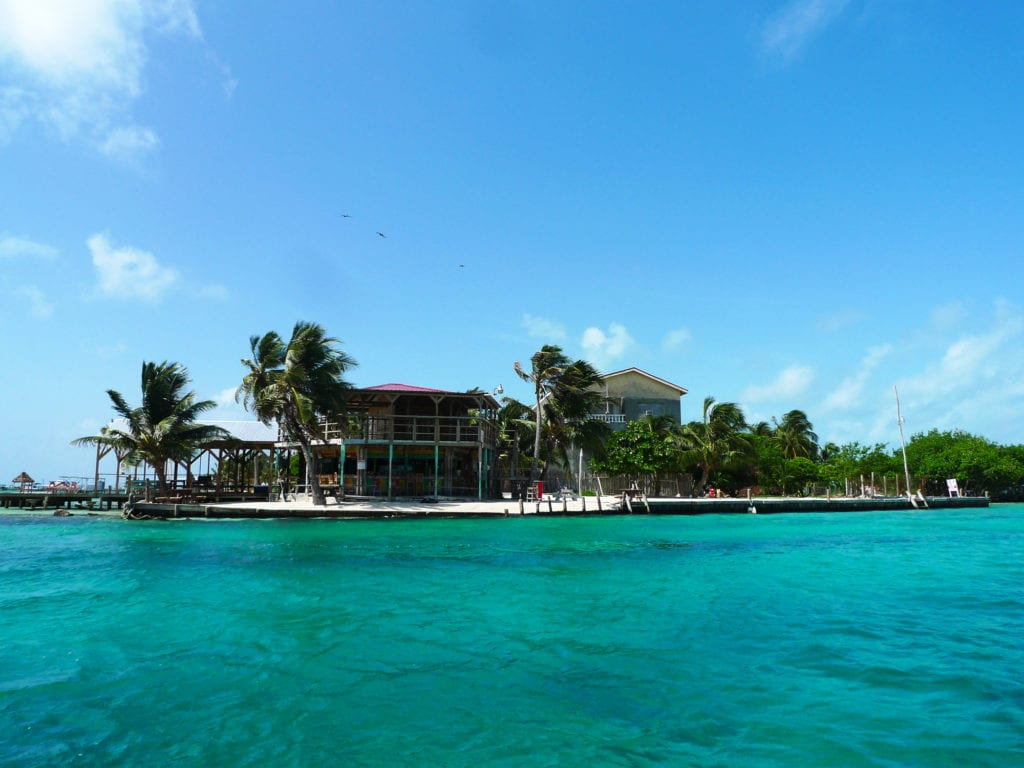 beautiful islands of caye caulker in belize