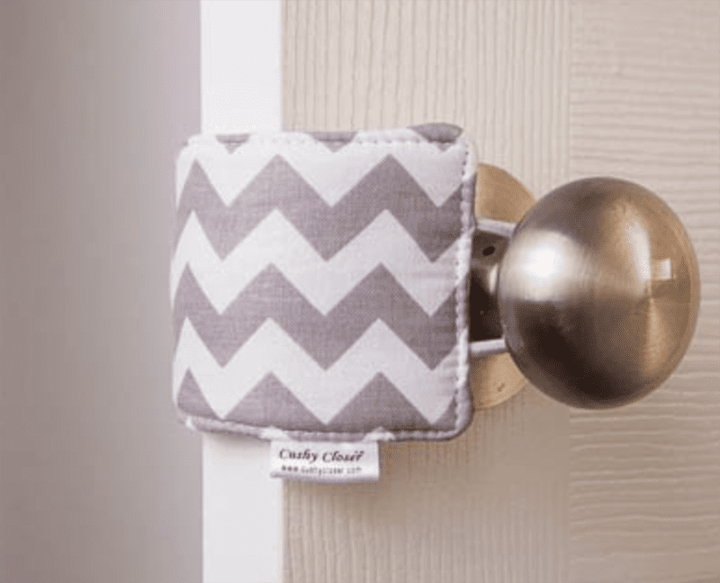 one of the best baby shower gifts you didn't know you needed is a door silencer