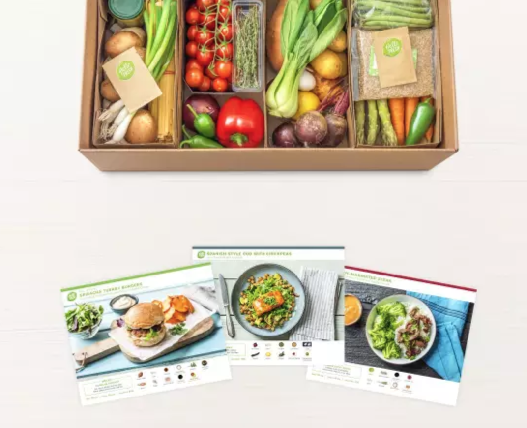 hello fresh meal delivery service is a recommended as one of the best baby shower gifts