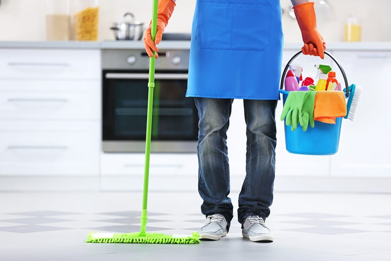 home cleaning services make the best baby shower gifts