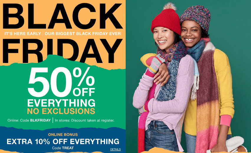 Best Black Friday Deals From The Gap