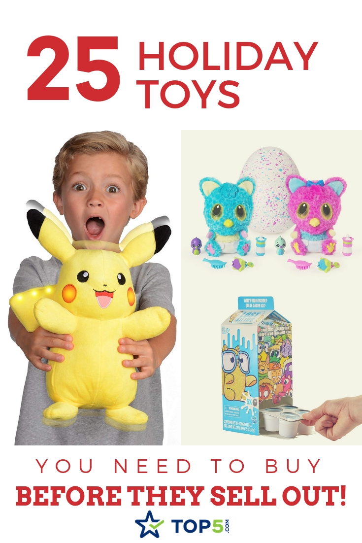 Buy These 25 Trending Holiday Toys Before They Sell Out!