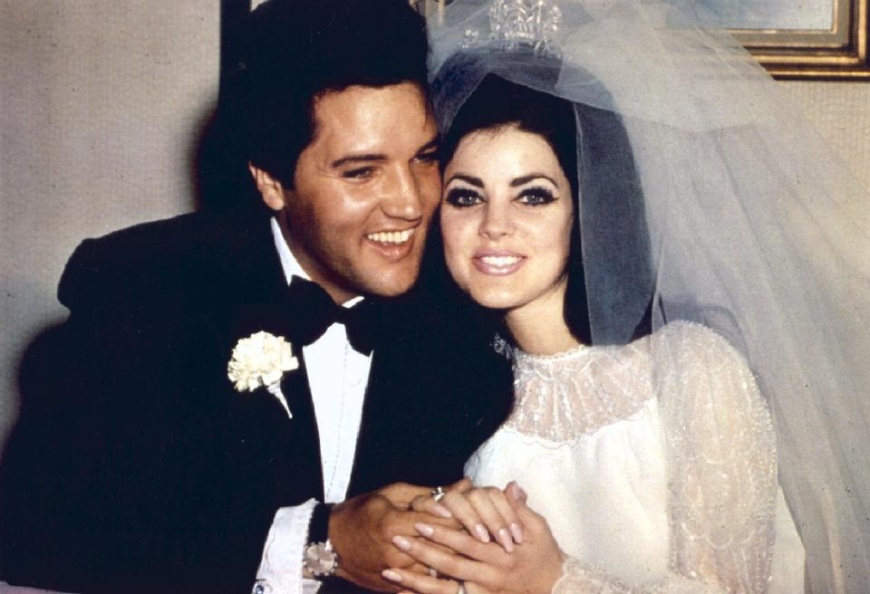celebs who married their fans elvis presley priscilla