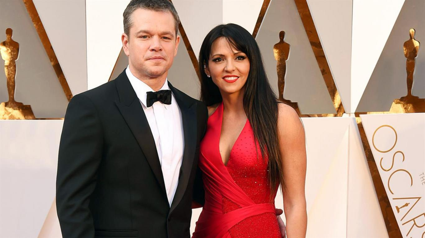 celebs who married their fans matt damon luciana barroso