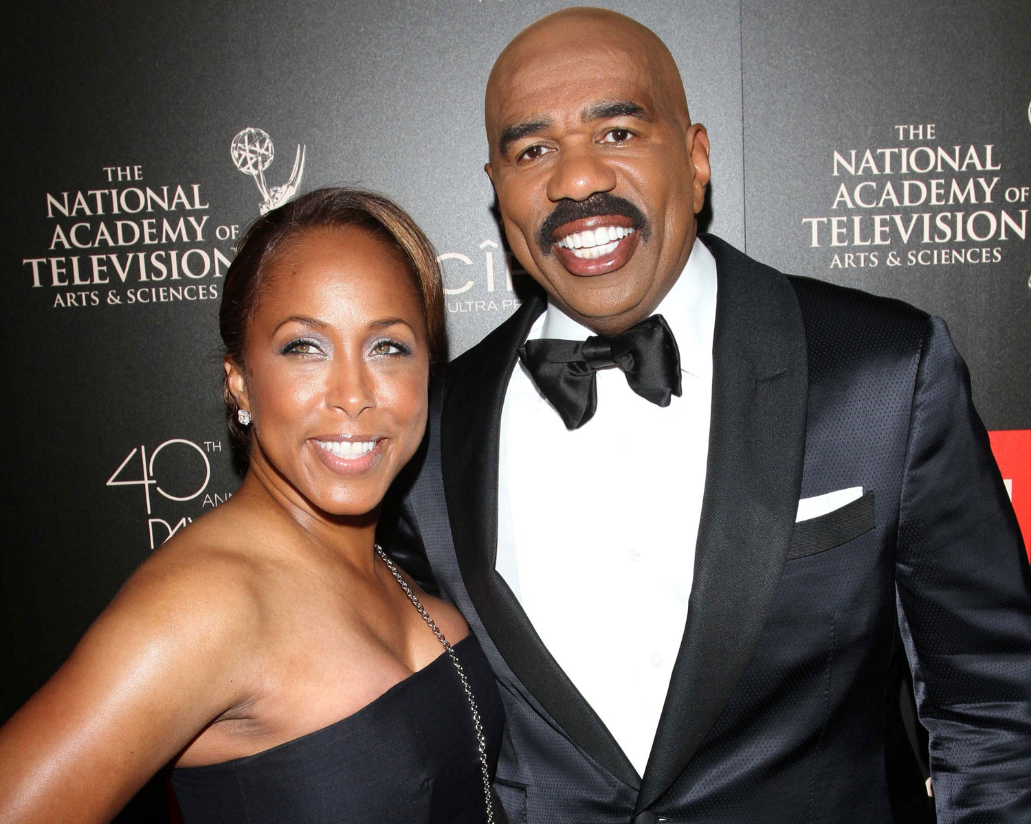 celebs who married their fans steve harvey marjorie