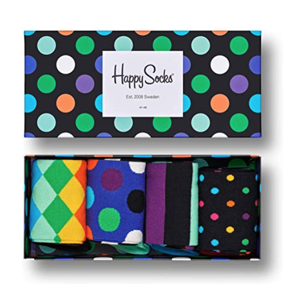 colorful premium cotton sock gift box