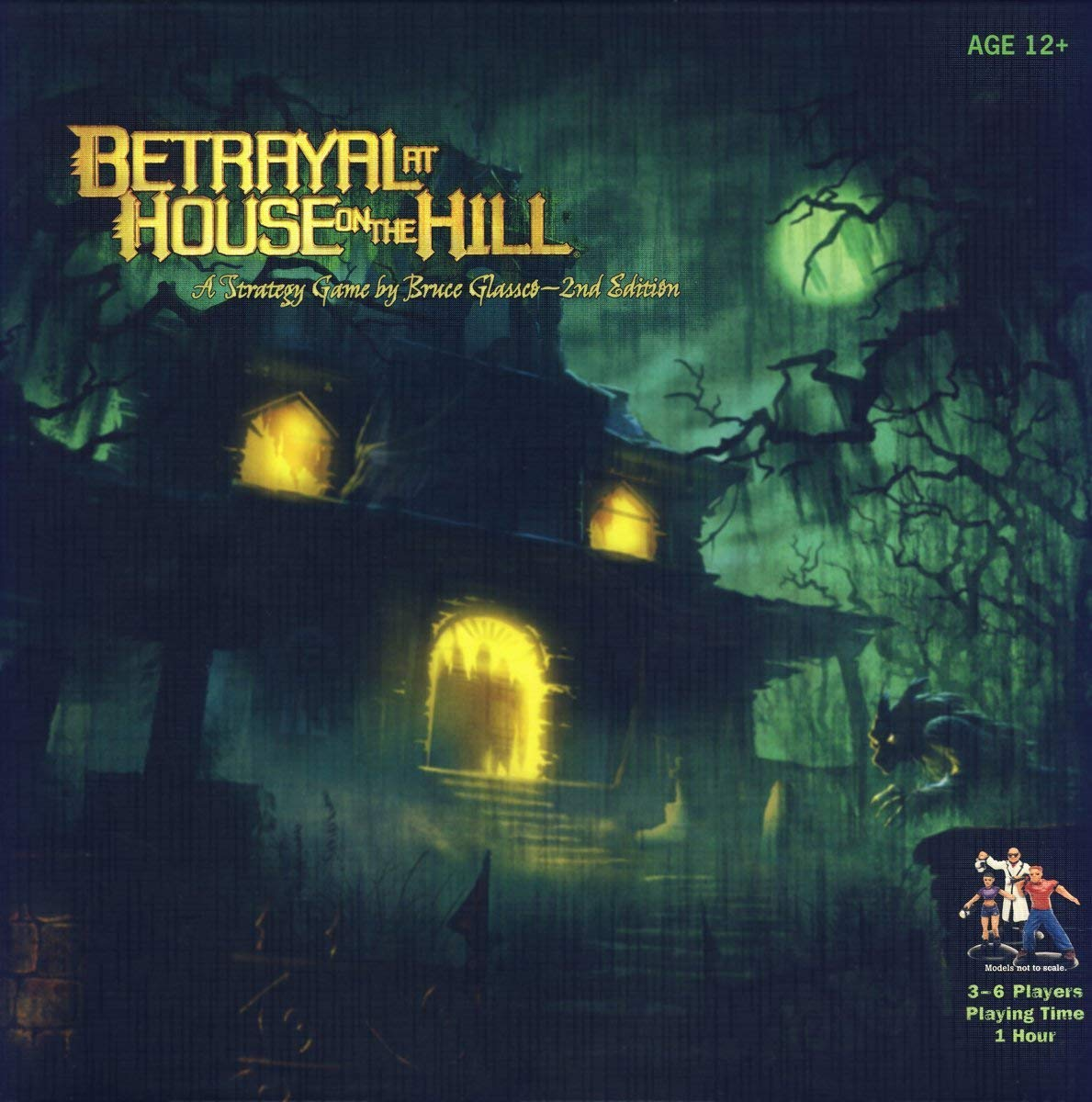 family board games betrayal at house on the hill