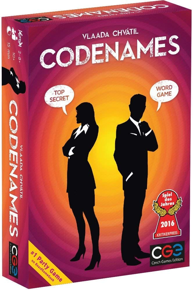 family board games codenames