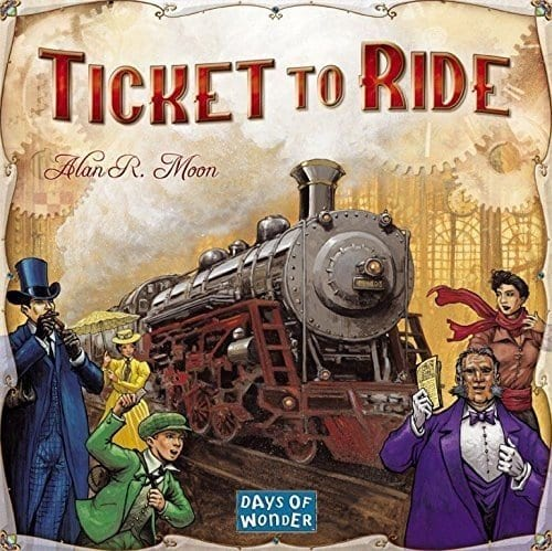 family board games ticket to ride