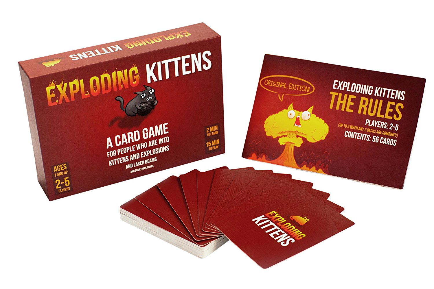 family board games exploding kittens
