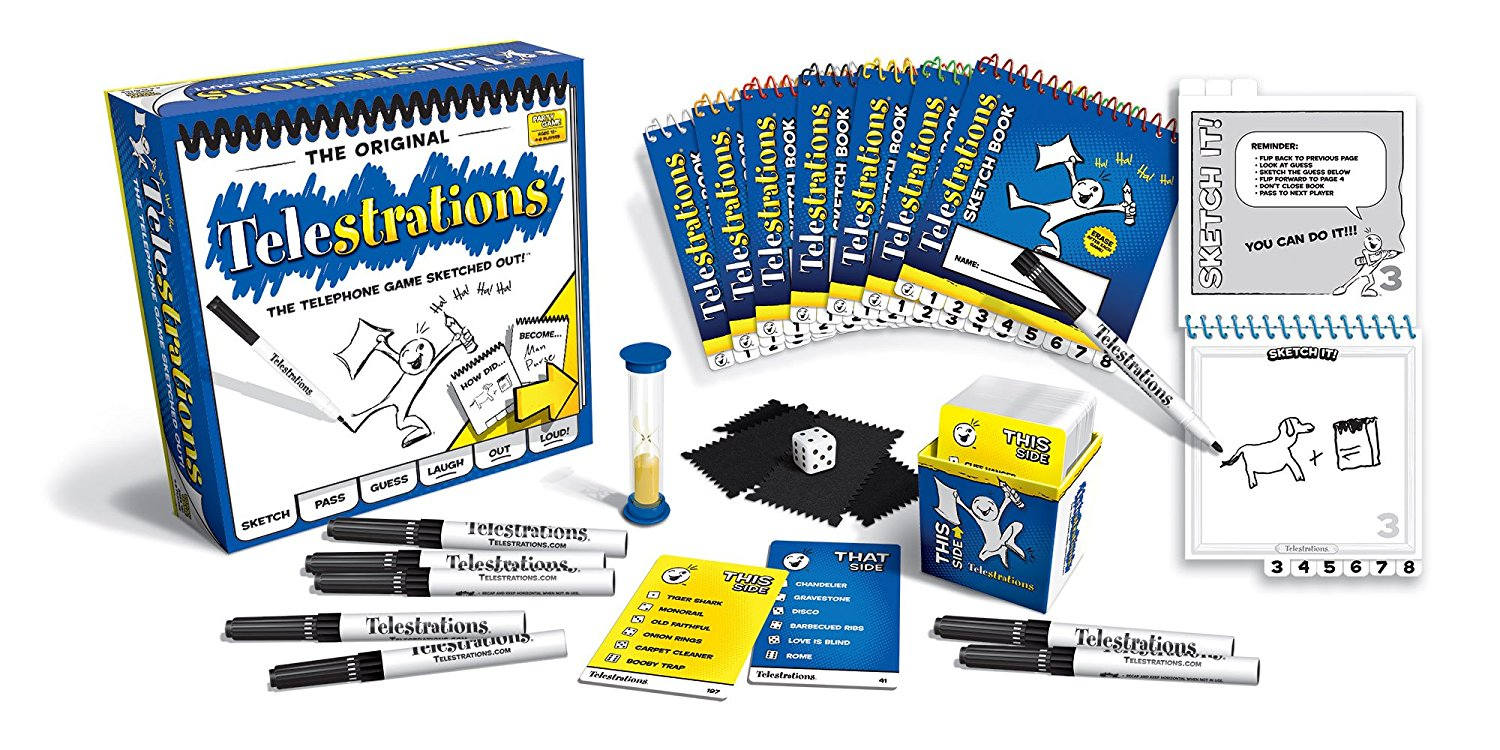 family board games telestrations