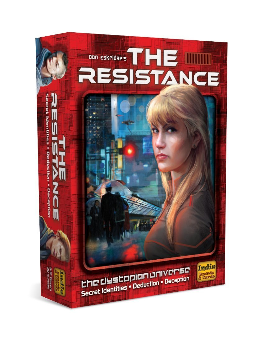 family board games the resistance