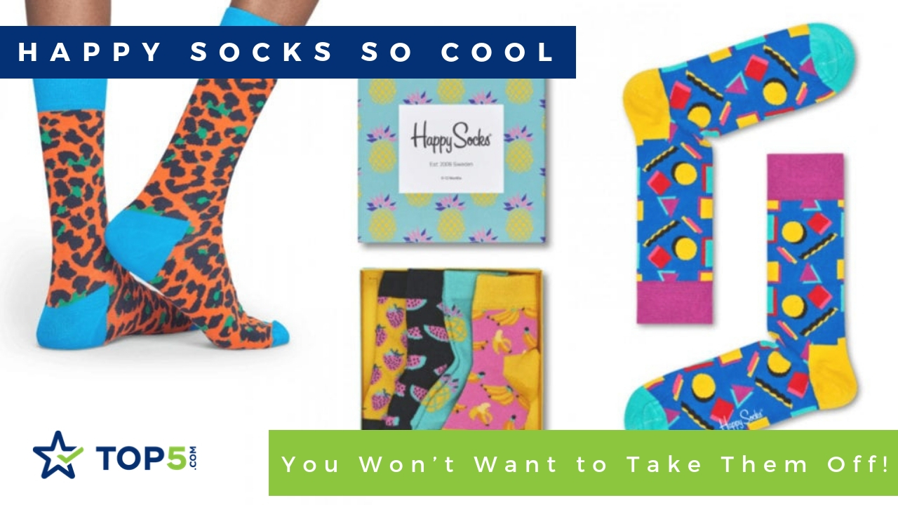 happy socks so cool you won't want to take them off!